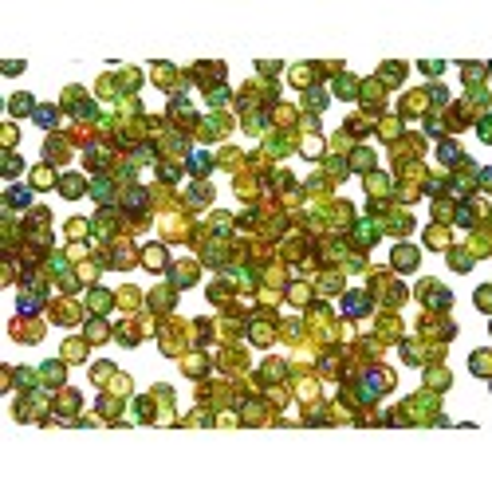 Cekiny 6 mm łamane laserowe złote
