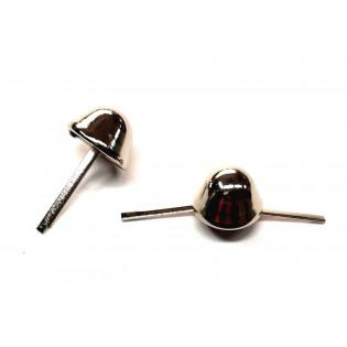 Pukle metalowe Stopki wysokie 18 mm