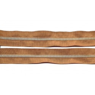 Ruda taśma suwakowa metalowa z metra